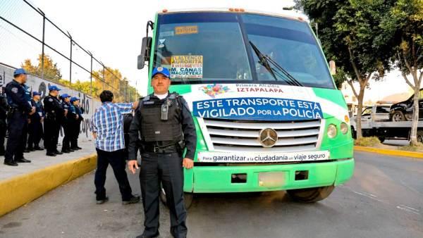 asalto transporte publico cdmx