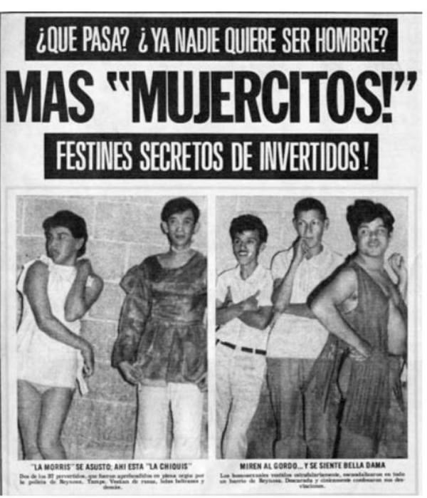 Homofobia, Historia, Prensa, Mexicana Alarma! Mujercitos