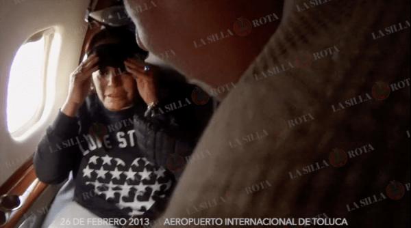 Captura de vido de detención de Elba Esther Gordillo