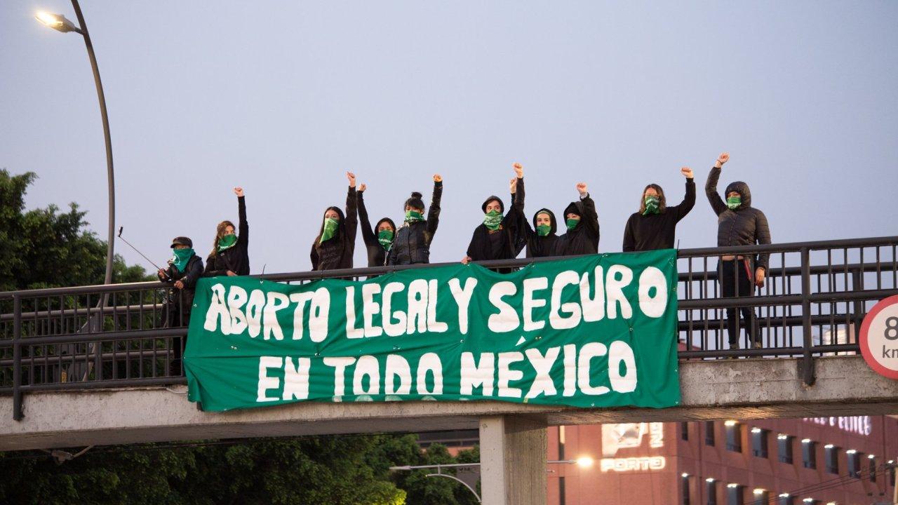 aborto legal protesta cdmx