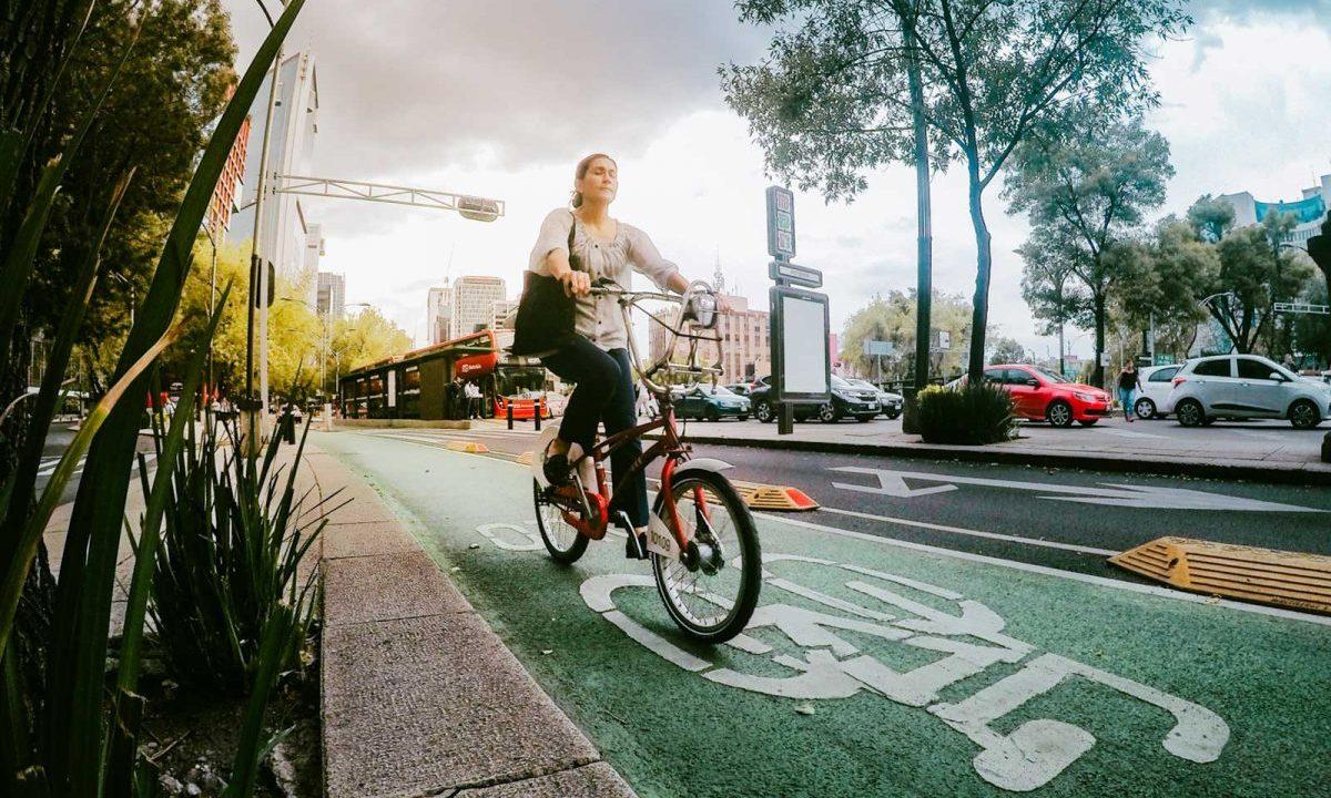 ciclovías, biciestacionamientos, CDMX