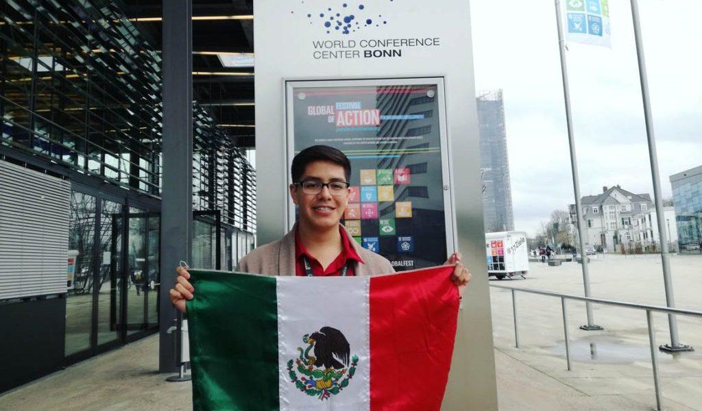 Estudiante del Politécnico representará a México en festival de la ONU