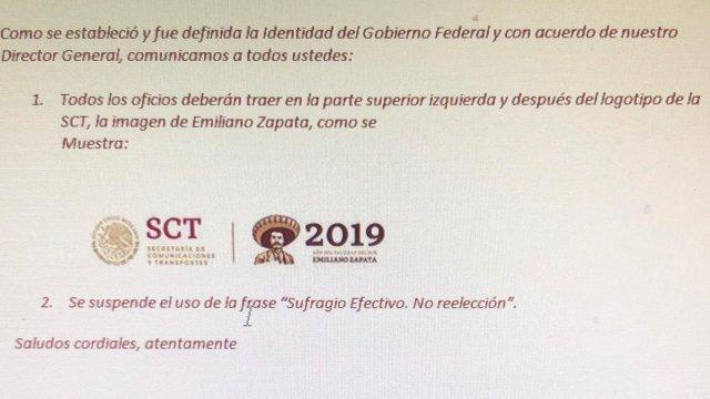 ¿SCT eliminó sufragio efectivo no reelección de comunicados?