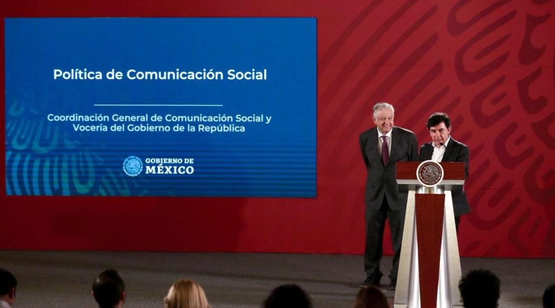 AMLO presenta nueva política para la comunicación social