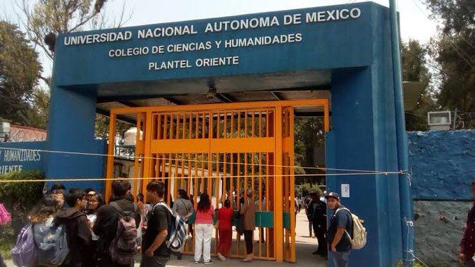 Reportan asesinato de alumna adentro de CCH Oriente