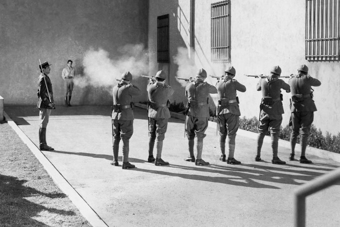 Consideran regresar batallón de fusilamiento como pena capital