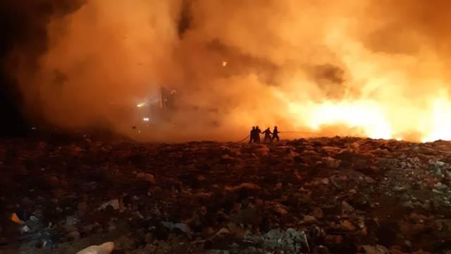 Incendios de la semana además de Notre Dame.