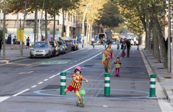 Supermanzanas, Barcelona