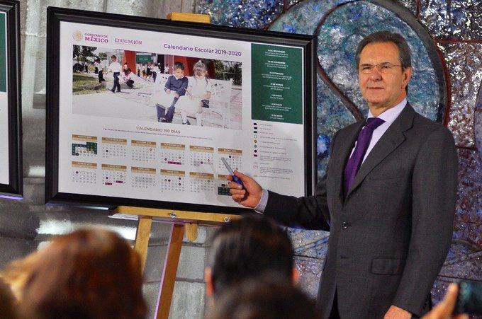 Calendario Escolar 2020 Sep Oficial.Sep Presenta Calendario Escolar 2019 2020 Plumas Atomicas