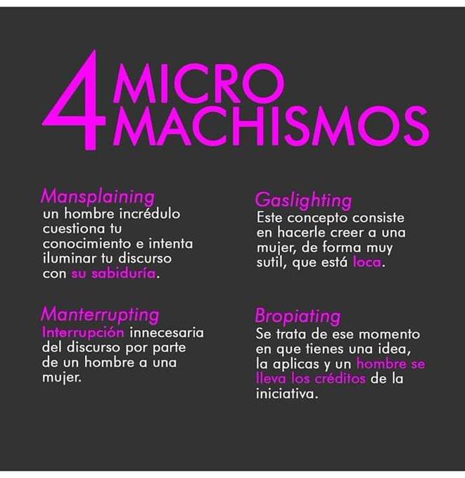micromachismo, machismo
