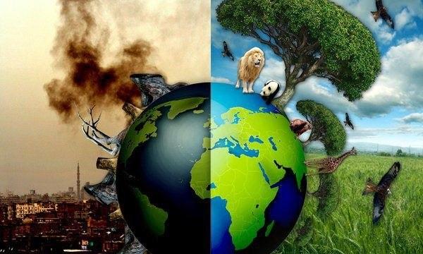 Mapa señala los 100 países y empresas más contaminantes del mundo.