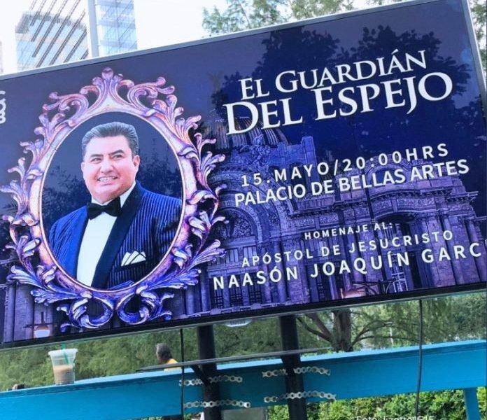 ¿Bellas Artes albergó homenaje a líder evangélico?
