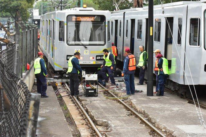 Tren ligero suspende estaciones seis meses por mantenimiento