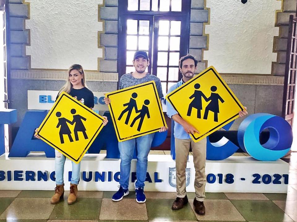 Tampico instala señalética inclusiva en mes de Orgullo LGBT