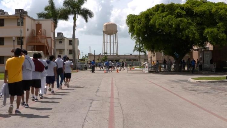 Centro de detención de Homestead, Florida. Hoy.