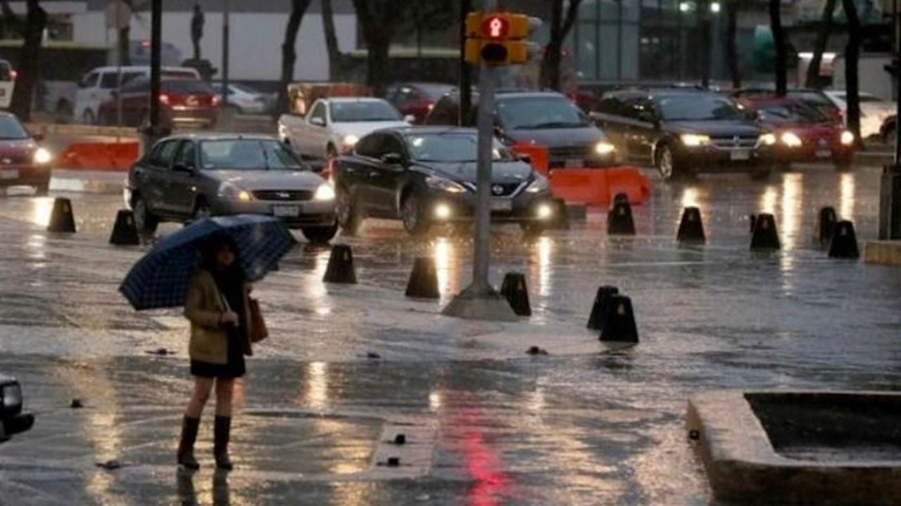 lluvias en CDMX activan alerta amarilla en nueve alcaldías