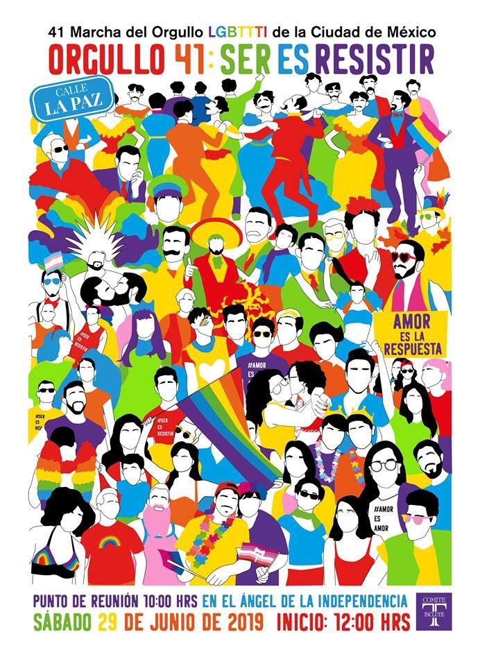 Marcha del Orgullo número 41 en la CDMX