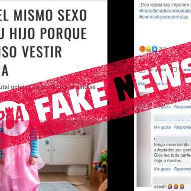 FALSO: Asesinato de niño no fue ni por lesbianas ni porque no se vistió de niña