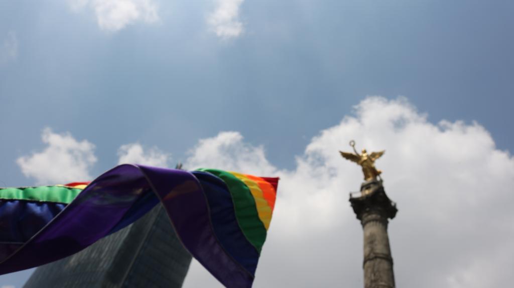 Marcha 41 del Orgullo LGBT+ en la Ciudad de México. Fotografía: Sofía Salcedo