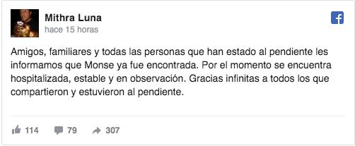 Monserrat Serralde salta de un taxi para evitar secuestro