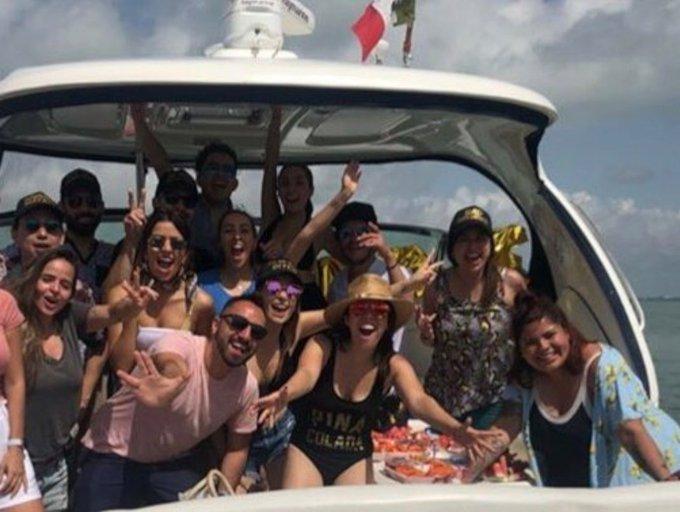 Pelea entre la influencer y capitan de yate en Cancún