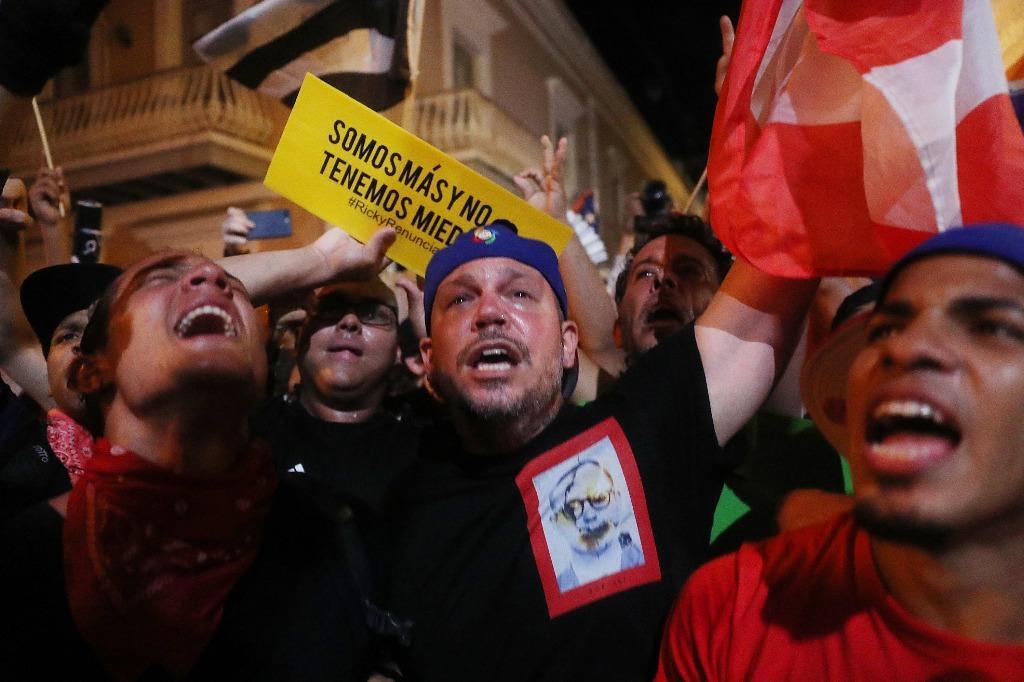 Renuncia Roselló en Puerto Rico