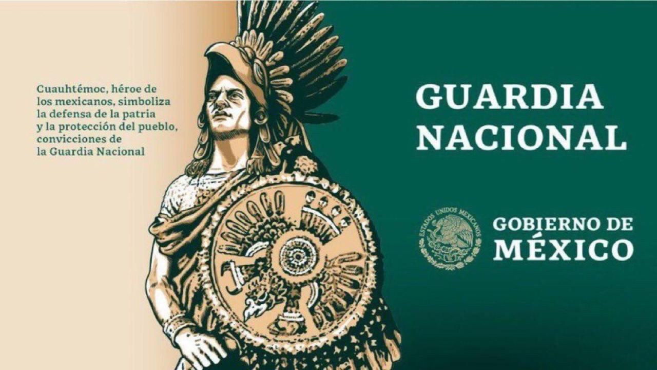 El mensaje contradictorio de Cuauhtémoc como símbolo de la Guardia Nacional