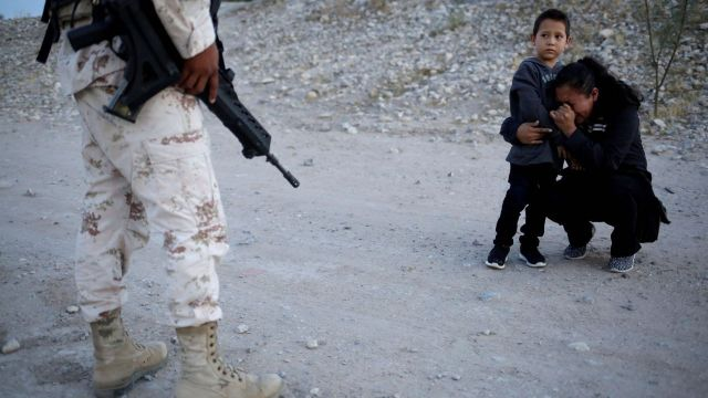 Migrantes en Juárez, detenidos por Guardia Nacional
