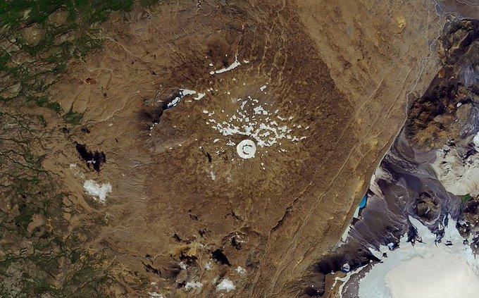 Desaparece glaciar Okjokull en Islandia: científicos NASA