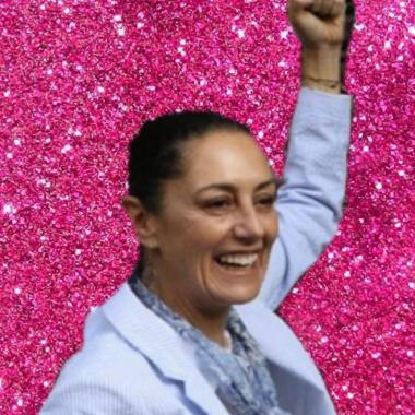 Reunión de Claudia Sheinbaum con cincuenta feministas