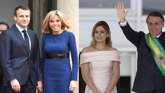 Bolsonaro critica a esposa de Macron