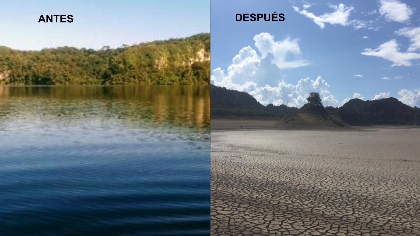Laguna de la Selva Lacandona se está secando, alerta Conagua