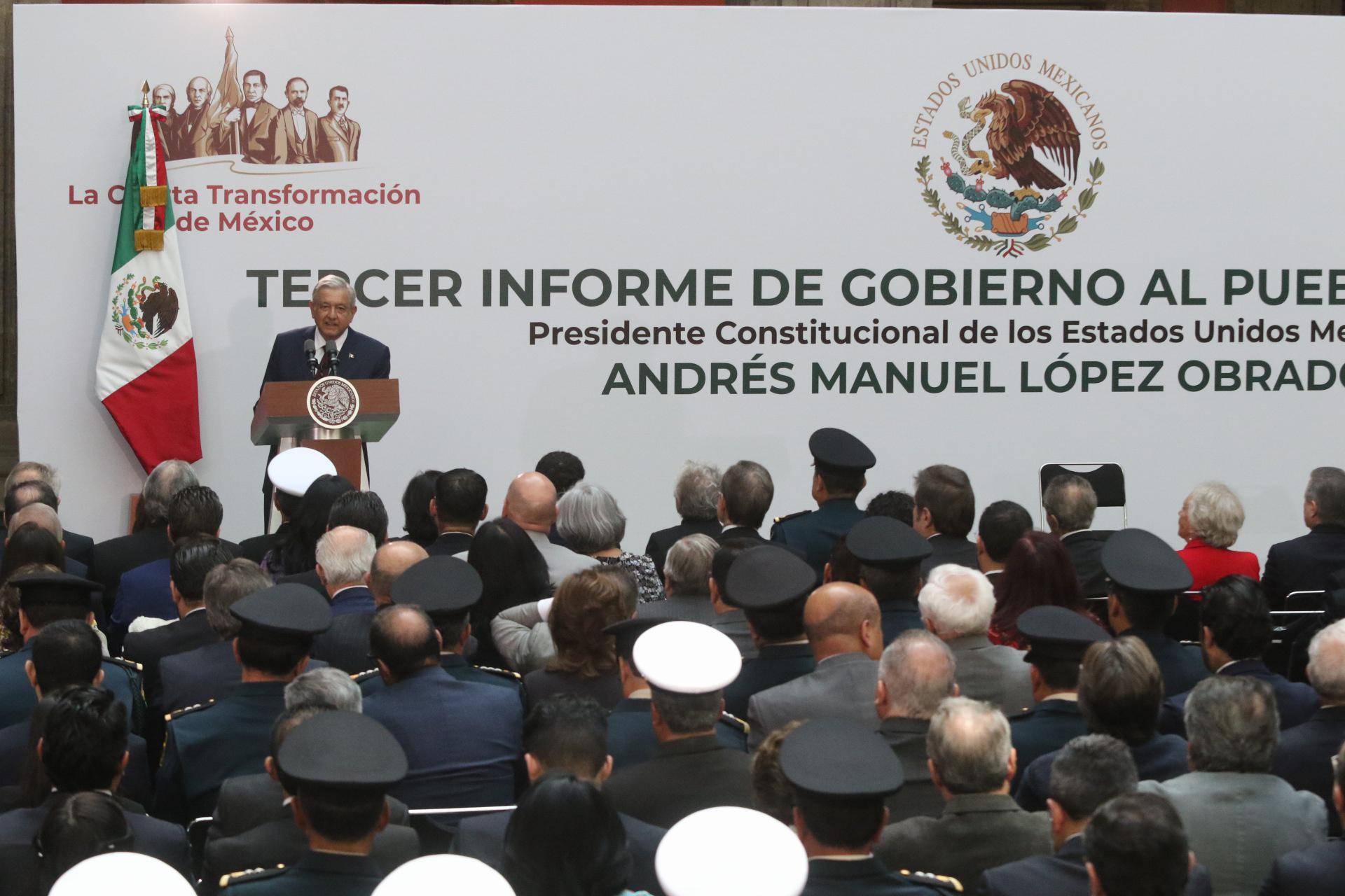 Primer Informe de gobierno de López Obrador