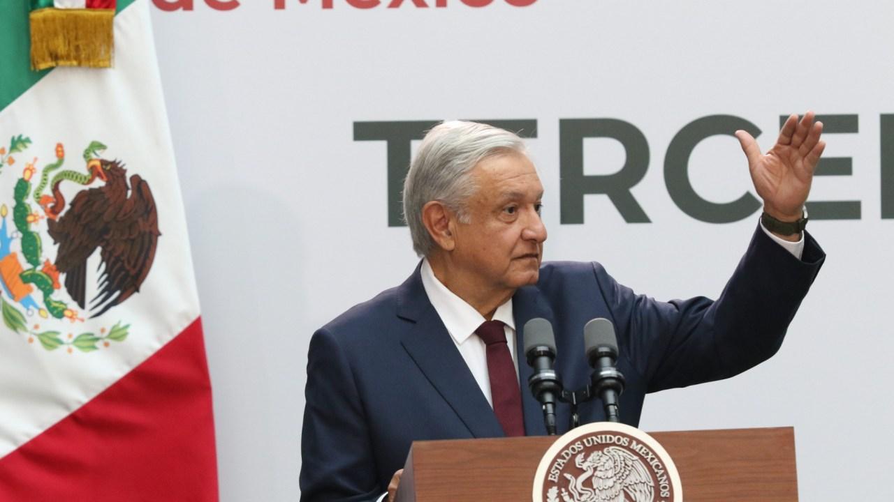 Primer Informe de AMLO en vivo en Palacio Nacional