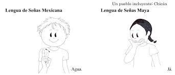Diferencias entre lenguajes de señas mexicano y maya
