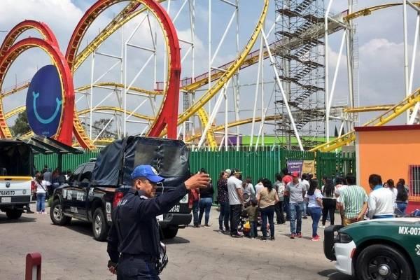 Accidente en Feria de Chapultepec deja dos muertos y cinco heridos