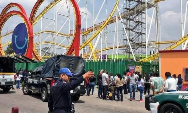 Accidente en Feria de Chapultepec: dos muertos