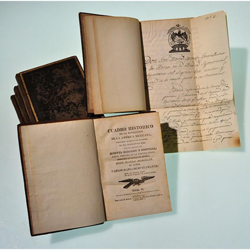 Cuadro Histórico de la Revolución Mexicana, primera edición