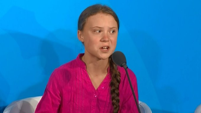 'Discurso de Greta Thunberg a líderes mundiales en la ONU