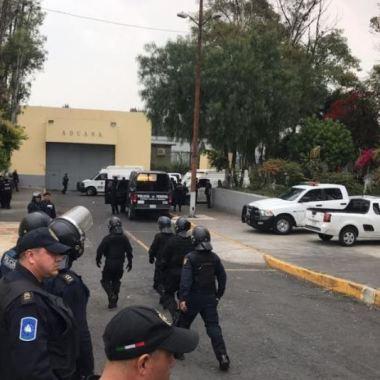 Reportan motín en Reclusorio Oriente: ocho heridos