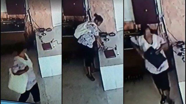En Sinaloa una mujer se robó una computadora de una iglesia