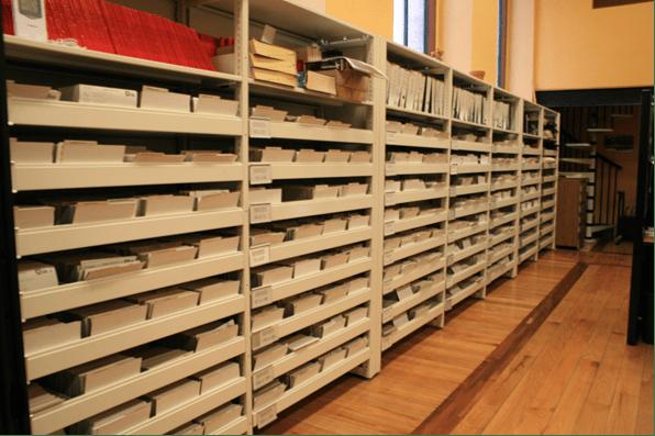 Se conservan 17 cintas que refieren al movimiento del 68