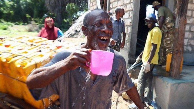 Primera planta solar que potabiliza el agua en Kenia
