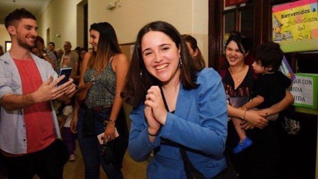 Ofelia Fernández la legisladora más joven en Latinoamérica