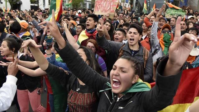 21/10/19 bolivia-fraude-electoral-protestas/ protestas