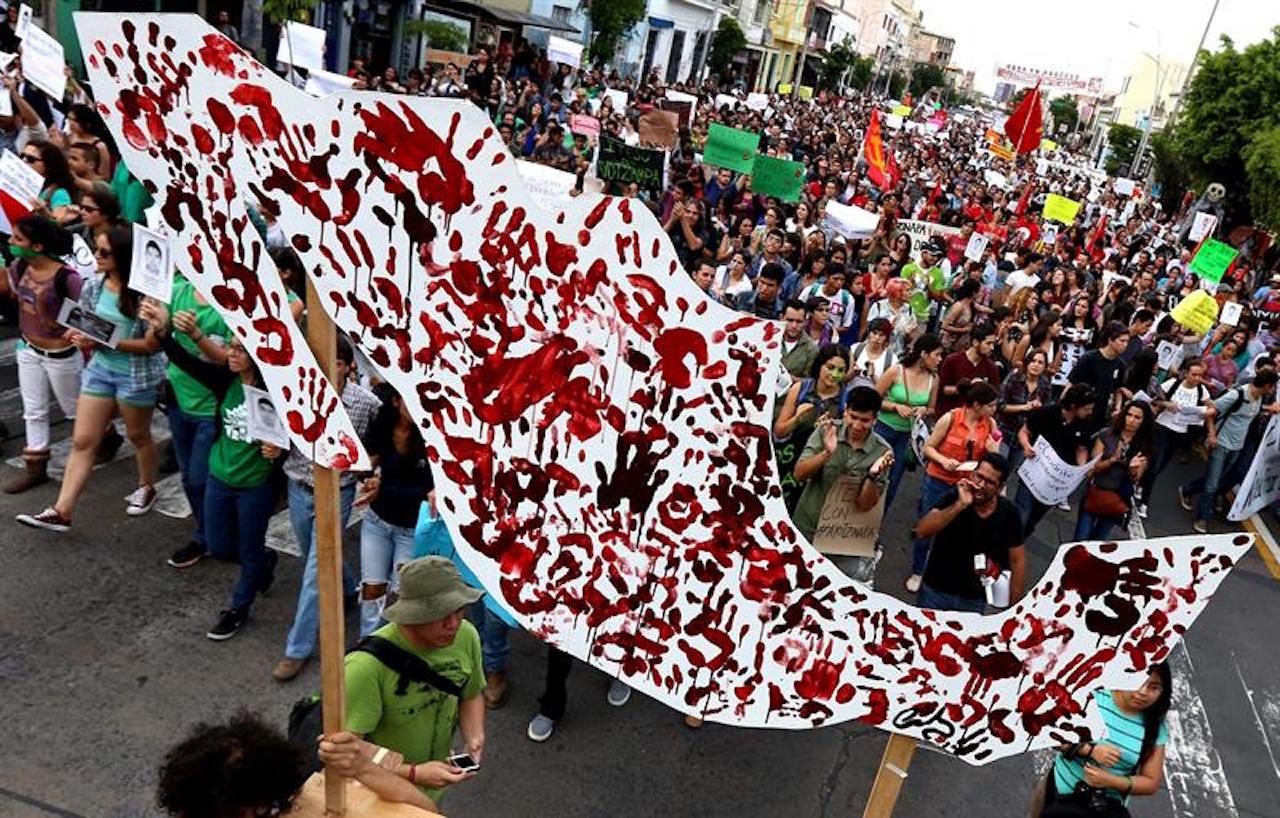 18/10/19 México-desaparición-forzada-recorrido/territorio mexicano