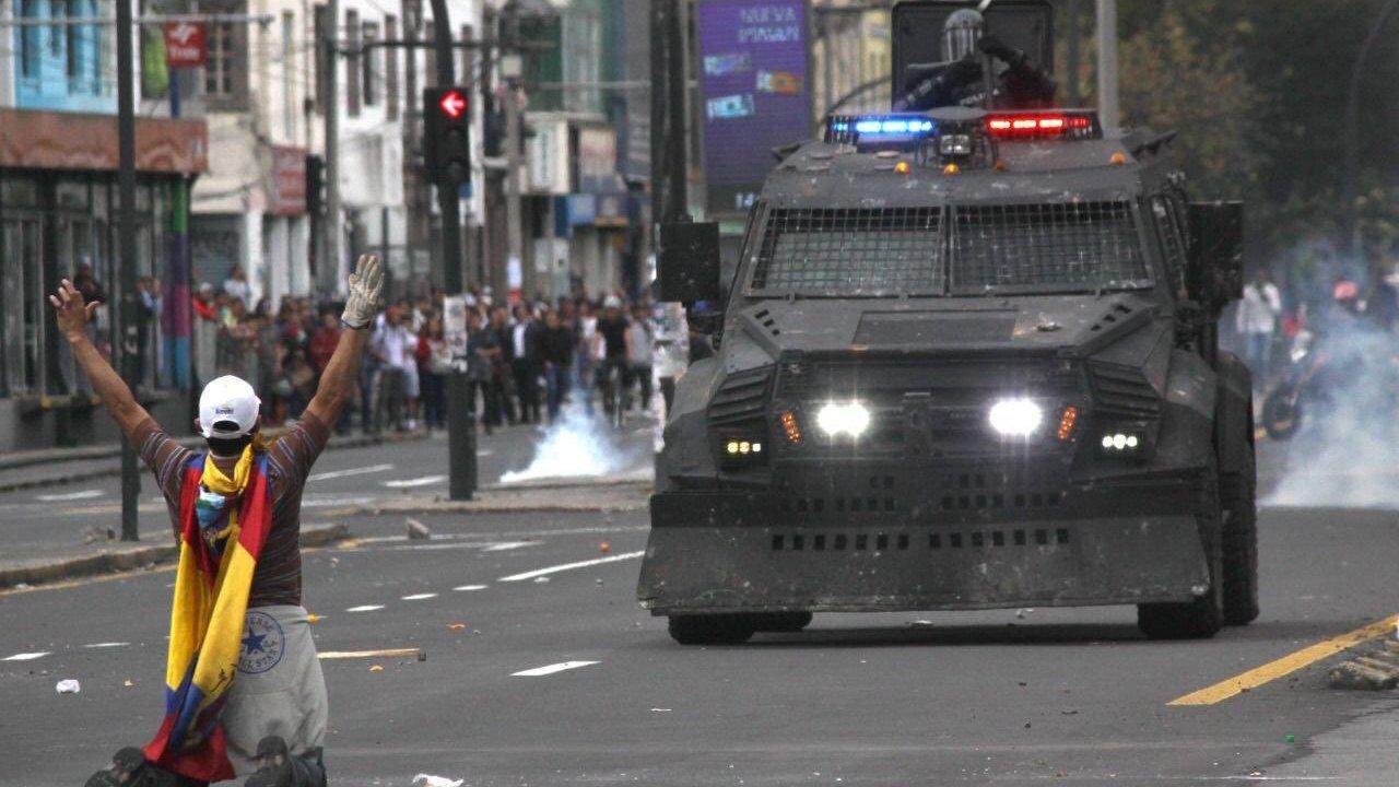 Movilizaciones en Ecuador por falta de subsidios en gasolina