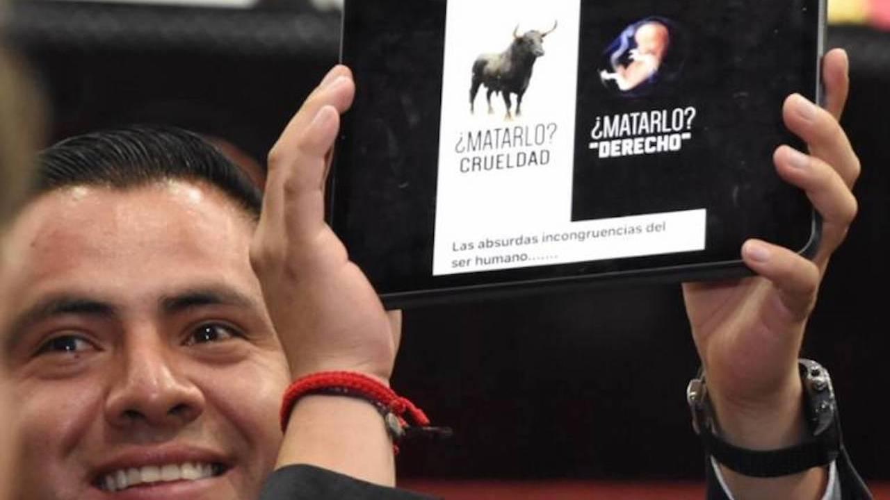 Diputado de Hidalgo compara aborto con tauromaquia