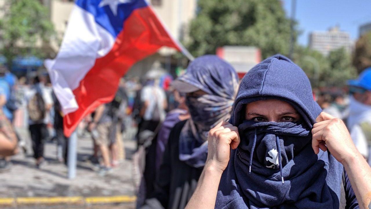 Estas son las fotos de las protestas de Chile en 2019