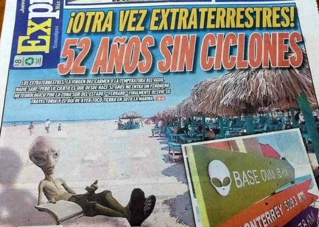 01/11/19, Aliens, Extraterrestres, Tampico, OVNI